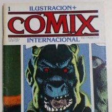Cómics: ILUSTRACION + COMIX INTERNACIONAL - Nº1 - TOUTAIN EDITOR - 1980. Lote 88097348