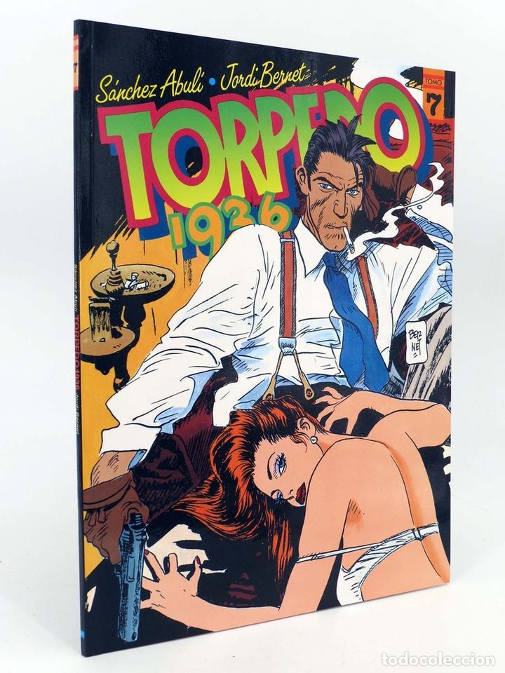 TORPEDO 1936 7. COLOR (ENRIQUE SÁNCHEZ ABULÍ / JORDI BERNET) TOUTAIN EDITOR, 1989. OFRT (Tebeos y Comics - Toutain - Álbumes)