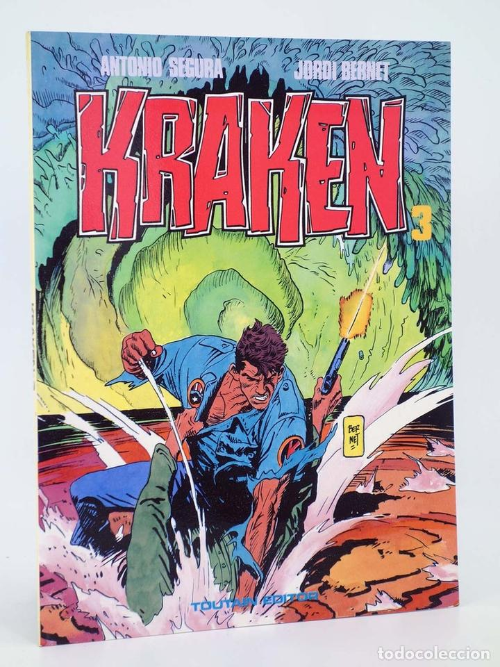 KRAKEN 3 (ANTONIO SEGURA / JORDI BERNET) TOUTAIN EDITOR, 1989. OFRT (Tebeos y Comics - Toutain - Álbumes)
