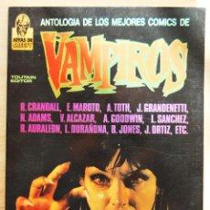 Cómics: ANTOLOGIA DE LOS MEJORES COMICS DE VAMPIROS - JOYAS CREPPY - TOUTAIN 1988 -MAROTO, ORTIZ, TOTH.... Lote 89337932