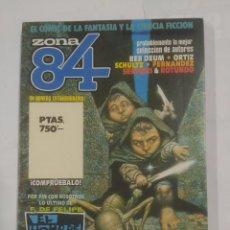 Cómics: ZONA 84. EL COMIC DE LA FANTASIA Y CIENCIA FICCION. RETAPADO CON LOS NUMEROS 89, 90, 91 Y 92. TDKC24. Lote 91350345