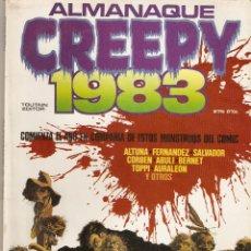 Cómics: CREEPY - ALMANAQUE 1983 -TOUTAIN EDITOR -. Lote 92809990