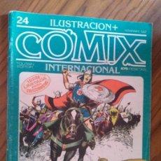 Cómics: COMIX INTERNACIONAL 24. REVISTA. VARIOS AUTORES. GRAPA. EDICIÓN COLECCIONISTA. BUEN ESTADO.. Lote 93134470
