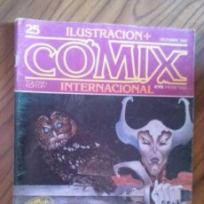 Cómics: COMIX INTERNACIONAL 25. REVISTA. VARIOS AUTORES. GRAPA. EDICIÓN COLECCIONISTA. BUEN ESTADO.. Lote 93134600