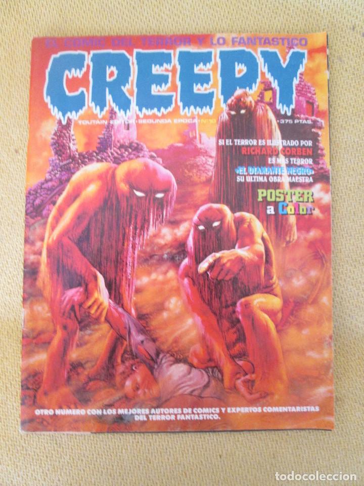 CREEPY Nº 10 2ª ÉPOCA (Tebeos y Comics - Toutain - Creepy)