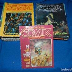 (MF) LOTE DE NUMEROS DE COMIX INTERNACIONAL , TOUTAIN EDITOR 1980 , SEÑALES DE USO