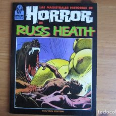 Cómics: LAS MAGISTRALES HISTORIAS DE HORROR DE RUSS HEATH - JOYAS DE CREEPY. Lote 95422747