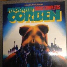 Cómics: RICHARD CORBEN. UNDERGROUND. TOMO 3 DE OBRAS COMPLETAS. 80 PAGINAS EN B/ N Y COLOR. Lote 95568507