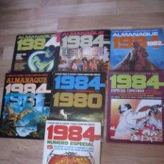 Cómics: ALMANAQUES 1984, COMPLETA + 2 ESPECIALES CONCURSO. Lote 95818131
