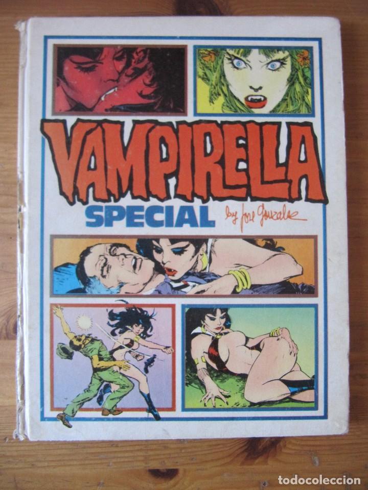VAMPIRELLA SPECIAL - PEPE GONZALEZ - ED. TOUTAIN (Tebeos y Comics - Toutain - Álbumes)