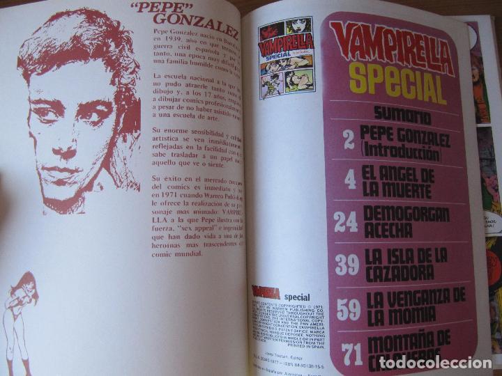 Cómics: VAMPIRELLA SPECIAL - PEPE GONZALEZ - ED. TOUTAIN - Foto 5 - 95820027