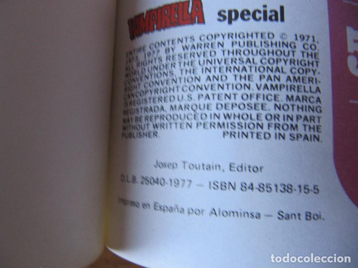 Cómics: VAMPIRELLA SPECIAL - PEPE GONZALEZ - ED. TOUTAIN - Foto 6 - 95820027