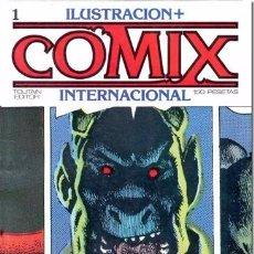 Cómics: COMIX INTERNACIONAL COLECCIÓN COMPLETA 70 NÚMEROS , Y ENCUADERNADA. Lote 95888031