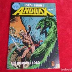 Cómics: COMIC ANDRAX Nº 11 LOS HOMBRES LOBO - EDITORIAL TOUTAIN 1988. Lote 95896555