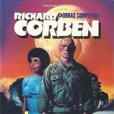 Cómics: JEREMY BROOD. OBRAS COMPLETAS 1 - RICHARD CORBEN - TOUTAIN - MUY BUEN ESTADO. Lote 95929871