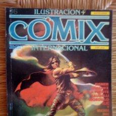 Cómics: ILUSTRACION + INTERNACIONAL COMIX EXTRA 32, 36, 40. Lote 96132488