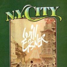 Cómics: N.Y. CITY, DE WILL EISNER (TOUTAIN, 1985). Lote 96400507