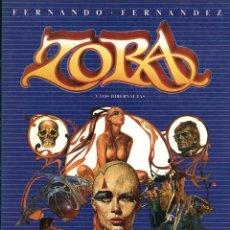 Cómics: ZORA Y LOS HIBERNAUTAS DE FERNANDO FERNANDEZ (TOUTAIN, 1985). Lote 96400791