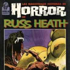 Cómics: HORROR, DE RUSS HEATH (TOUTAIN, 1987). Lote 96518971
