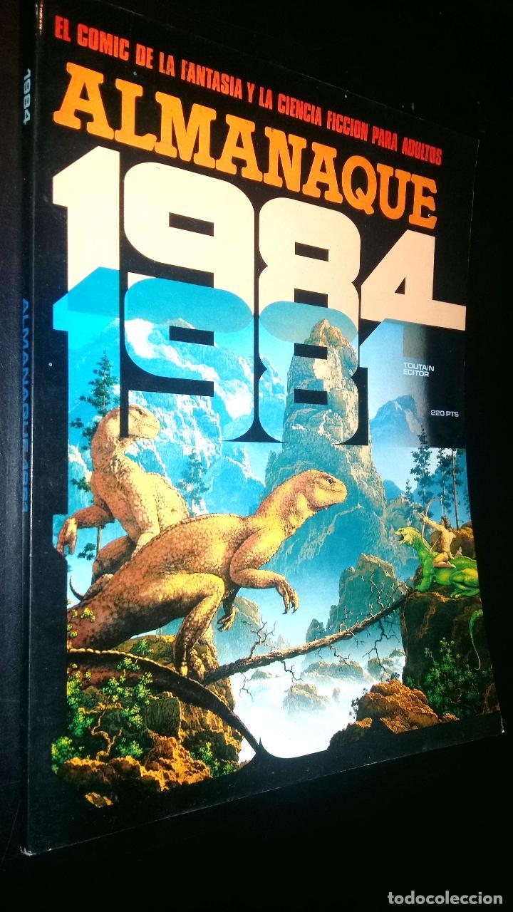 ALMANAQUE 1984 / 1981 (Tebeos y Comics - Toutain - 1984)