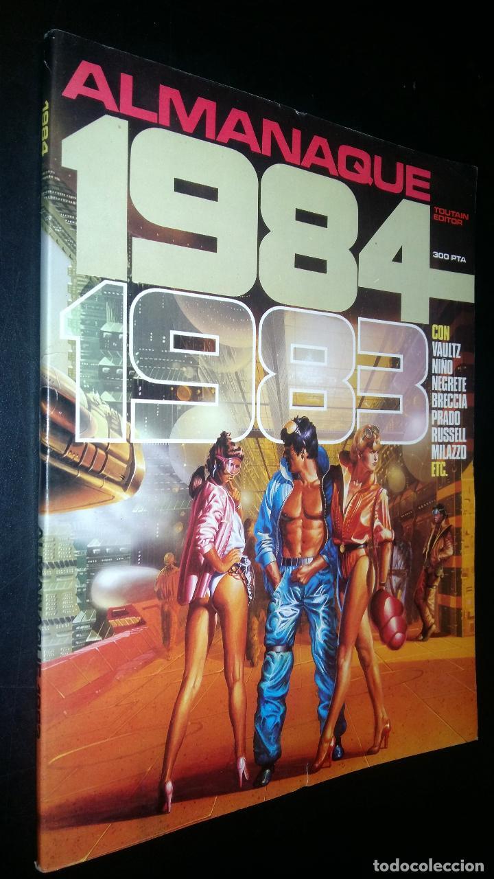 ALMANAQUE 1984 / 1983 (Tebeos y Comics - Toutain - 1984)