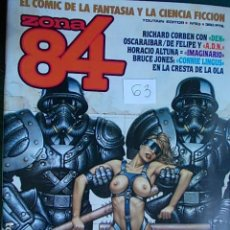 Comics : COMIC ZONA 84 Nº 63. Lote 96820743