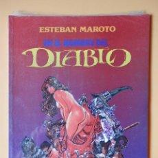 Cómics: EN EL NOMBRE DEL DIABLO - ESTEBAN MAROTO. Lote 98105207