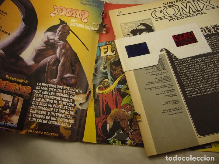Cómics: ILUSTRACION + COMIX INTERNACIONAL Nº 44 - AGOSTO 1984 Gafas 3D - Foto 3 - 98221203