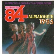 Fumetti: ZONA 84. ALMANAQUE 1986. TOUTAIN EDITOR. (B/60). Lote 98276059