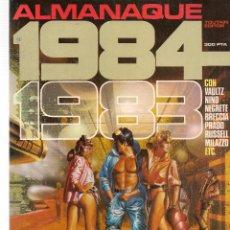 Cómics: 1984, COMIC DE FANTASIA Y CIENCIA FICCIÓN. ALMANAQUE 1983. TOUTAIN EDITOR. (B/60). Lote 98332755