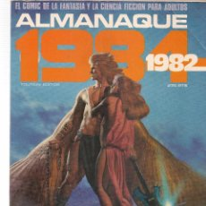 Cómics: 1984, COMIC DE FANTASIA Y CIENCIA FICCIÓN. ALMANAQUE 1982. TOUTAIN EDITOR. (B/60). Lote 98334807