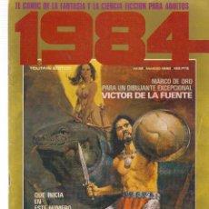Cómics: 1984, COMIC DE FANTASIA Y CIENCIA FICCIÓN. Nº 38. TOUTAIN EDITOR. (B/60). Lote 98338995