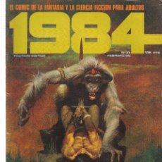 Cómics: 1984, COMIC DE FANTASIA Y CIENCIA FICCIÓN. Nº 37. TOUTAIN EDITOR. (B/60). Lote 98339187