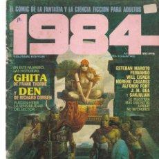 Cómics: 1984, COMIC DE FANTASIA Y CIENCIA FICCIÓN. Nº 34. TOUTAIN EDITOR. (B/60). Lote 98340167