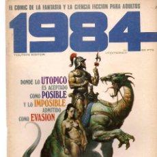Comics : 1984, COMIC DE FANTASIA Y CIENCIA FICCIÓN. Nº 25. TOUTAIN EDITOR. (B/60). Lote 98340987