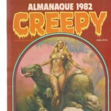 Cómics: CREEPY. ALMANAQUE 1982. TOUTAIN EDITOR. (B/60). Lote 98354503