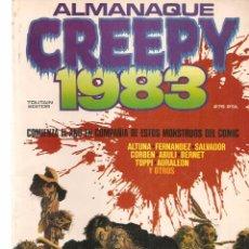 Cómics: CREEPY. ALMANAQUE 1983. TOUTAIN EDITOR. (B/60). Lote 98354559