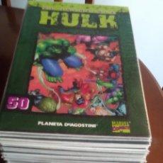 Cómics: HULK COLECCIONABLE DEL 1 AL 50 COMPLETO SIN LEER. Lote 98395455