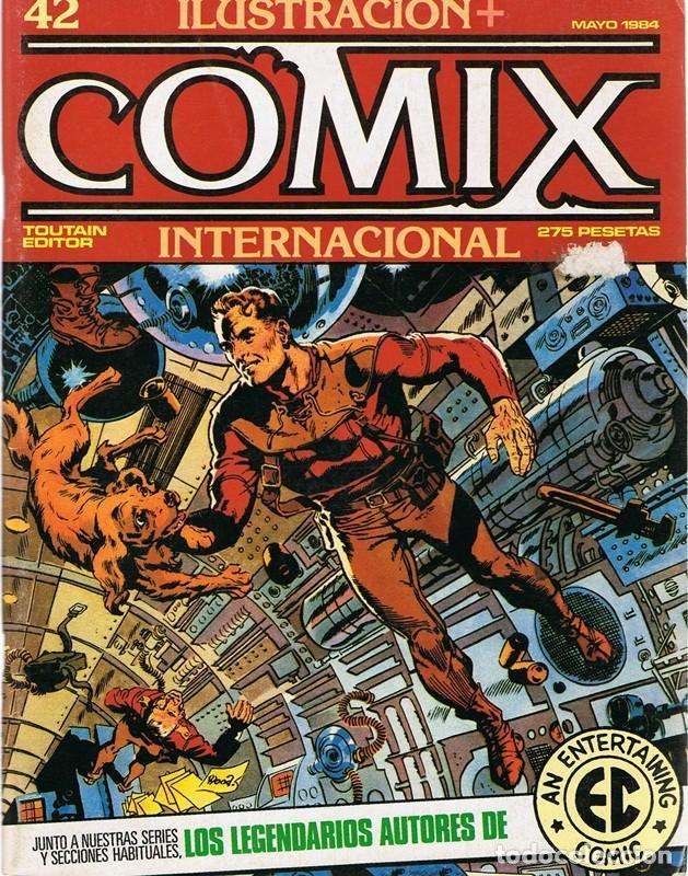 ILUSTRACION + COMIX INTERNACIONAL Nº 42 (Tebeos y Comics - Toutain - Comix Internacional)