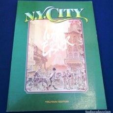 Cómics: N.Y. CITY. WILL EISNER, THE BIG CITY. TOUTAIN EDITOR. 1985. ISBN 84-85138-99-6. CÓMIC, OBRA. NY.. Lote 98715763