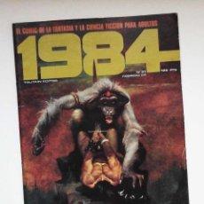 Cómics: 1984, Nº 37, PORTADA CONAN DE SANJULIAN, CON EL DEN DE CORBEN, GHITA, ZORA, ETC. BUEN ESTADO. Lote 174636035