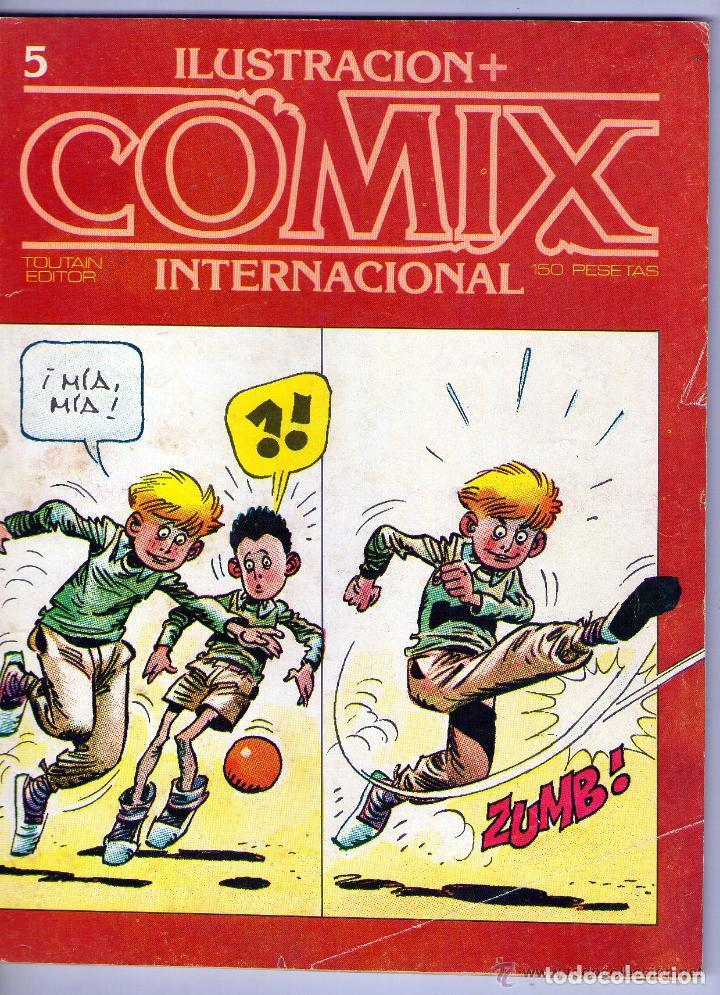 COMIX INTERNACIONAL Nº 5 TOUTAIN (Tebeos y Comics - Toutain - Comix Internacional)