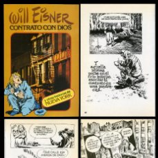 Cómics: WILL EISNER. CONTRATO CON DIOS. TOUTAIN 1979. Lote 99058891