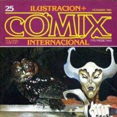 Cómics: ILUSTRACIÓN+COMIX INTERNACIONAL-Nº 25 - DIC-1982-ALTUNA-MARTIN SAURI-CHAYKIN-REGULAR-LEAN-8096. Lote 114106439