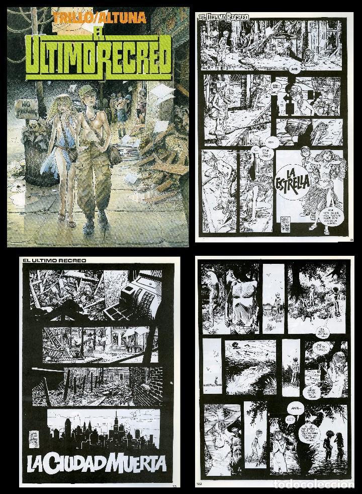 TRILLO/ALTUNA. EL ULTIMO RECREO. TOUTAIN EDITOR 1989 (Tebeos y Comics - Toutain - Otros)