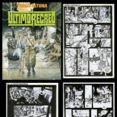 Cómics: TRILLO/ALTUNA. EL ULTIMO RECREO. TOUTAIN EDITOR 1989. Lote 99167651