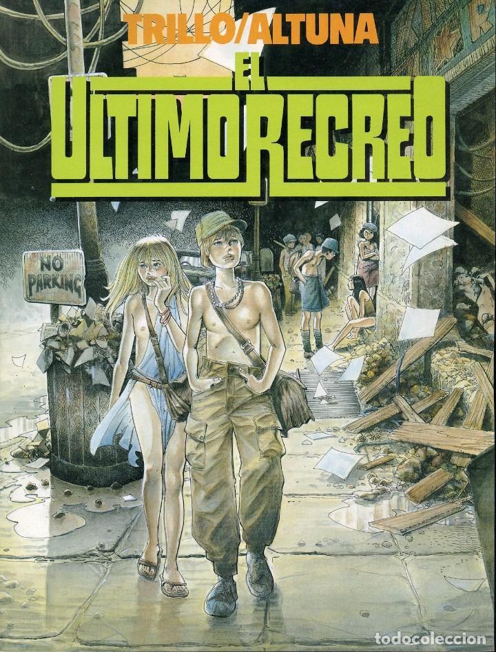 Cómics: TRILLO/ALTUNA. EL ULTIMO RECREO. TOUTAIN EDITOR 1989 - Foto 2 - 99167651