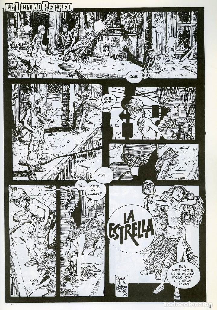 Cómics: TRILLO/ALTUNA. EL ULTIMO RECREO. TOUTAIN EDITOR 1989 - Foto 3 - 99167651
