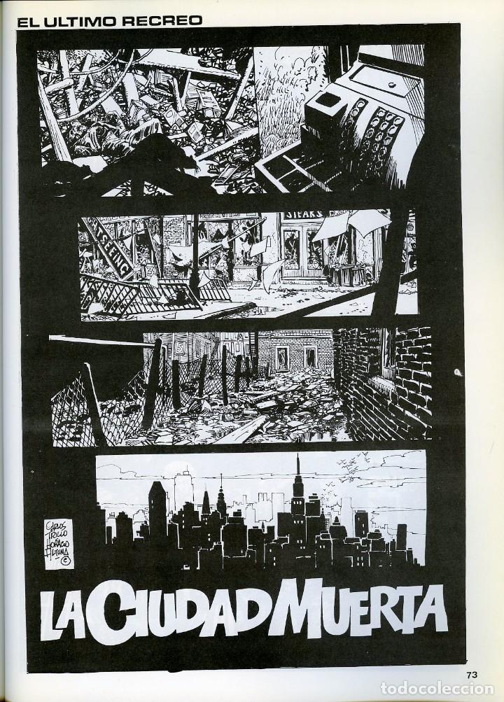 Cómics: TRILLO/ALTUNA. EL ULTIMO RECREO. TOUTAIN EDITOR 1989 - Foto 4 - 99167651