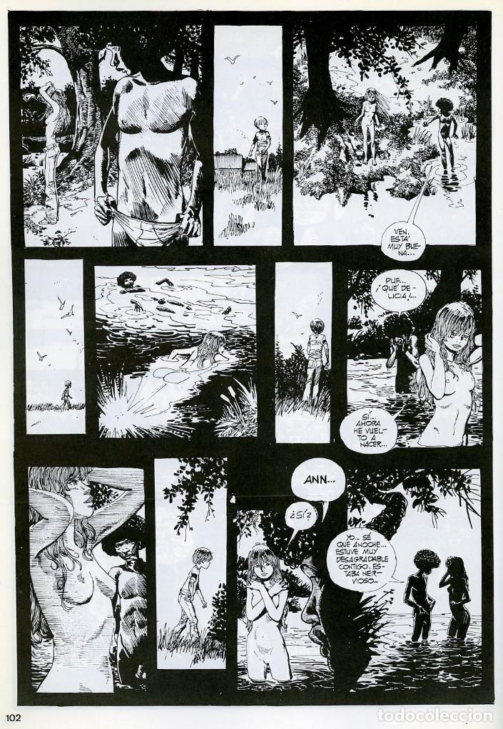 Cómics: TRILLO/ALTUNA. EL ULTIMO RECREO. TOUTAIN EDITOR 1989 - Foto 5 - 99167651